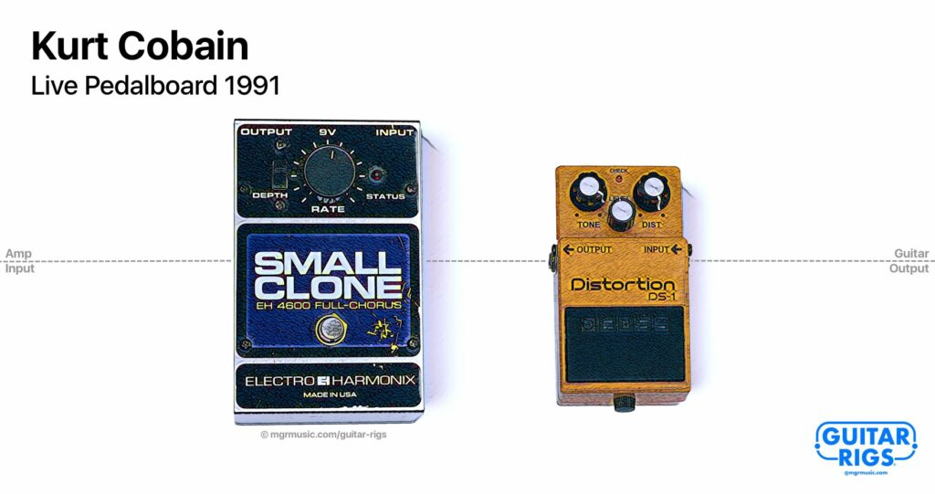 Kurt Cobian Guitar Rig 1991